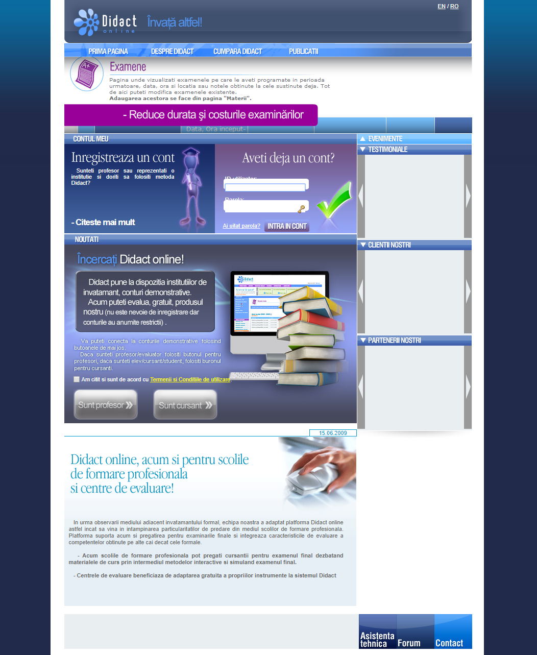 Didactonline - e-Learning & exams